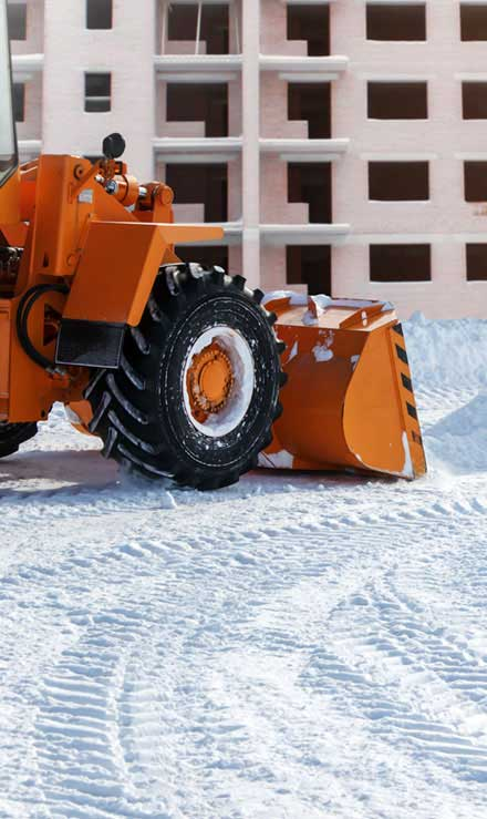 King's Lawn Care LLC Commercial Snow Removal