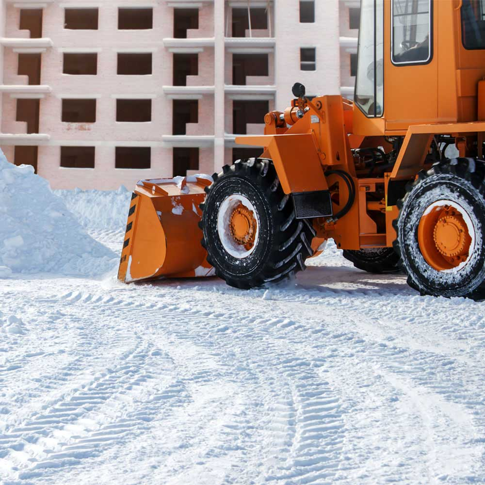 Commercial Snow Removal Service