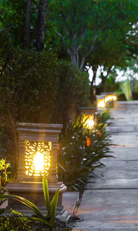 King's Lawn Care LLC Residential Landscape Lighting